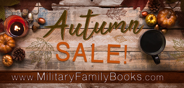 Autumn sale on MilitaryFamilyBooks.com
